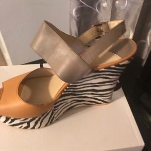 Nine West Zebra Shoes
